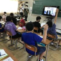 People with Minamata disease offer life lessons for Oita students