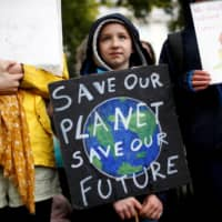 An Extinction Rebellion demonstration in London in 2019  | REUTERS