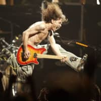 Eddie Van Halen plays a concert in New Jersey in 2004.  | NJ ADVANCE MEDIA / VIA AP