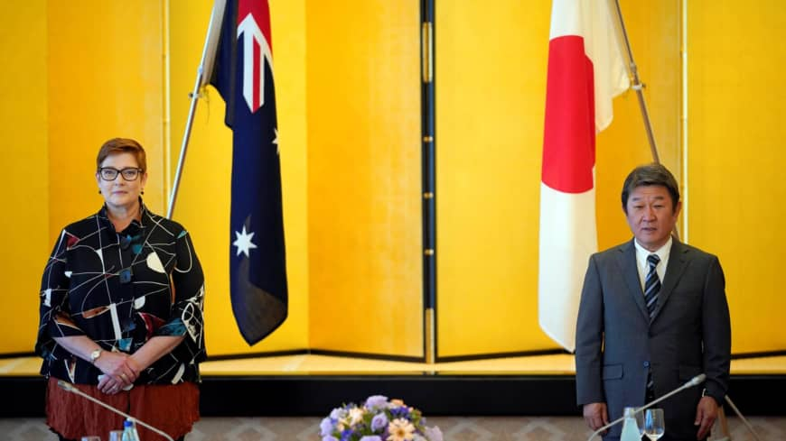 Japan and Australia to promote talks on easing mutual travel curbs