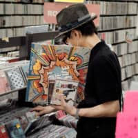 Some RECOfan Shibuya BEAM customers spend hours browsing the store's racks and boxes. | STEPHAN JARVIS