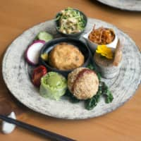 Plant-based fusion: Mique's menu incorporates French, Ayurvedic, Italian and Japanese traditions. | MICHAEL HARLAN TURKELL