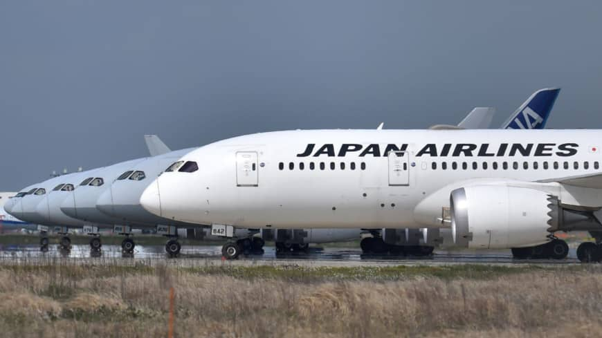 JAL and ANA to make smaller cuts in flights in Japan