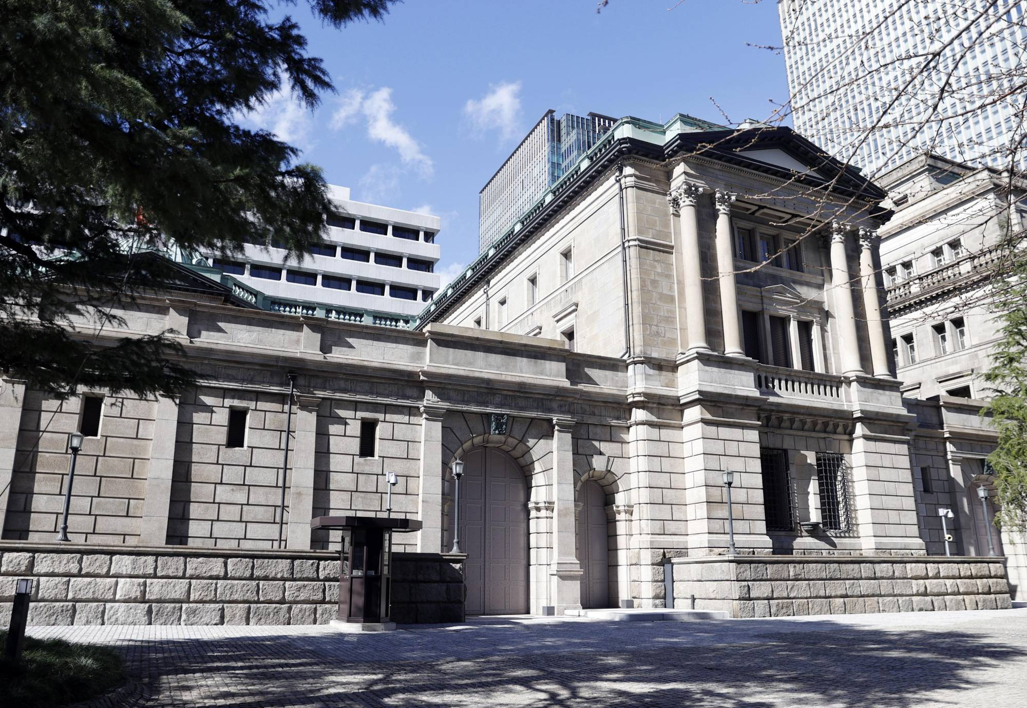 The Bank of Japan on Thursday upgraded its assessments of eight out of nine regional economies. | KYODO