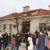 Sugihara House in Kaunas, Lithuania, is situated in the former Japanese Consulate where Chiune Sugihara issued visas to help Jews escape Nazi persecution. | KYODO