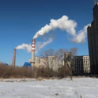 A coal-fired heating complex in Harbin, northern China | REUTERS