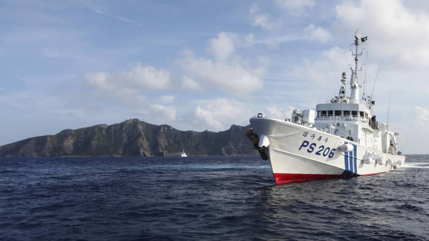Chinese ships stay in Japanese waters near Senkakus for record 57 hours