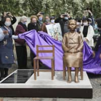 Berlin allows 'comfort women' statue to remain for time being