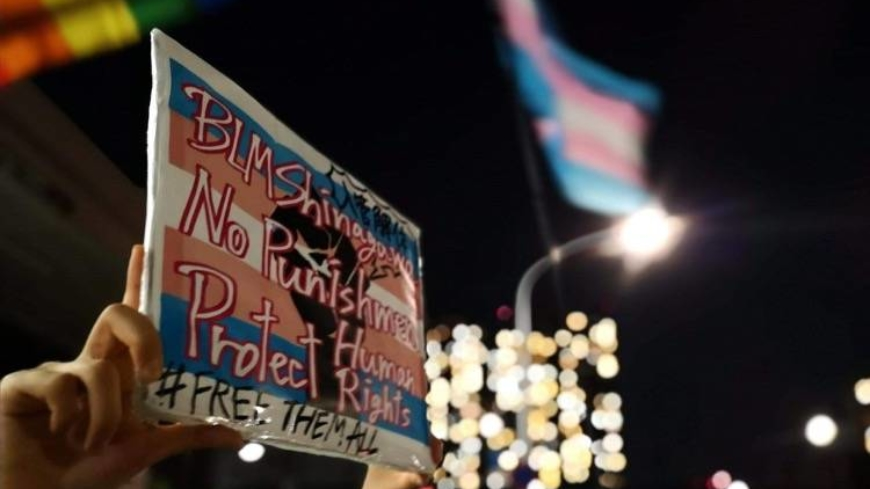A transgender woman caught in the system finds help from the community