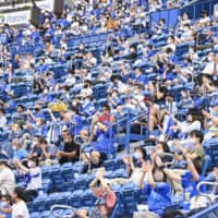 Yokohama Stadium to be packed with 27,000 to test virus measures