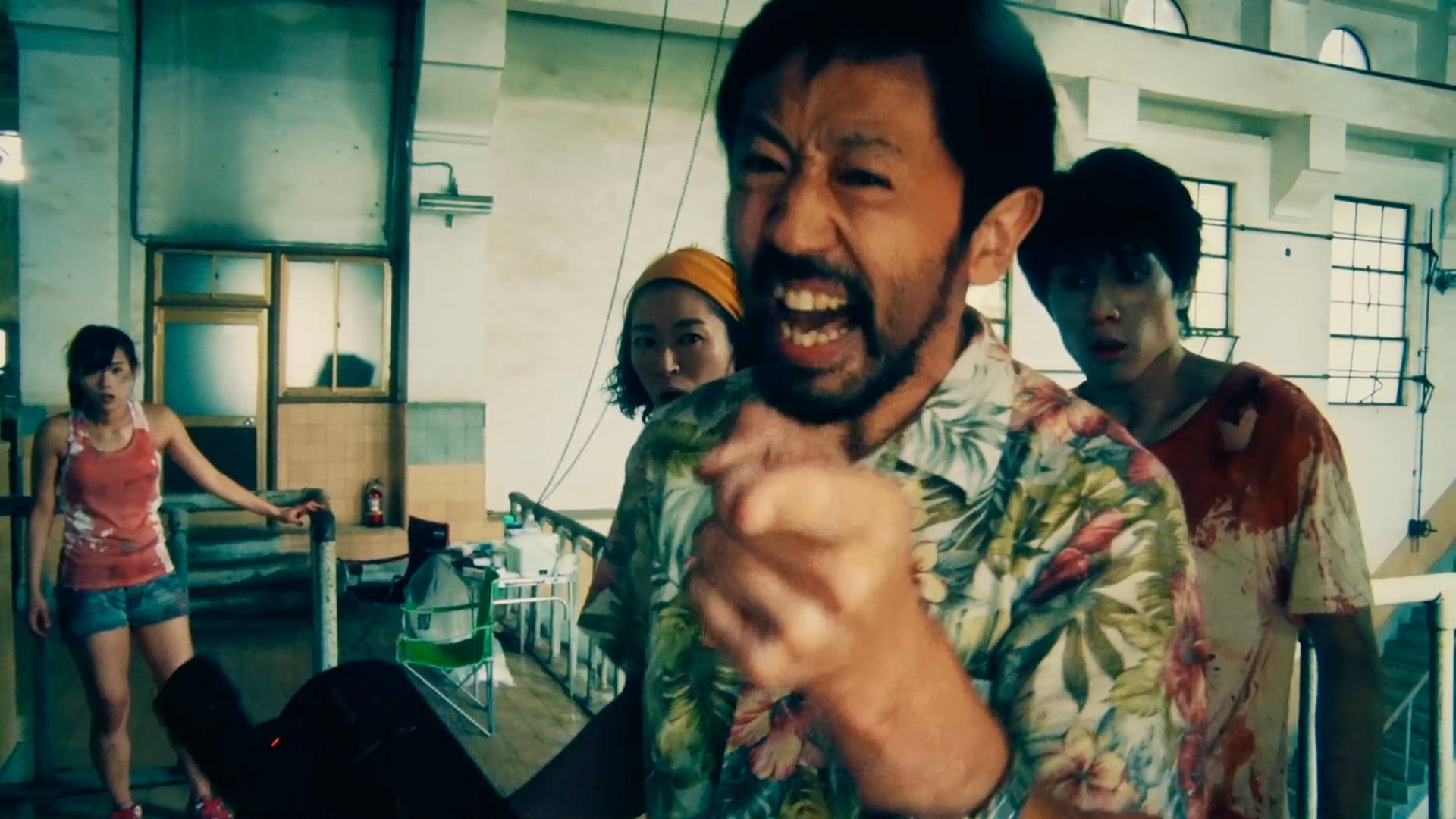 Reality bites: 'One Cut of the Dead,' Shinichiro Ueda's comedy about a zombie movie shoot that turns into a reality show, provides more fun than frights. | © ENBU SEMINAR