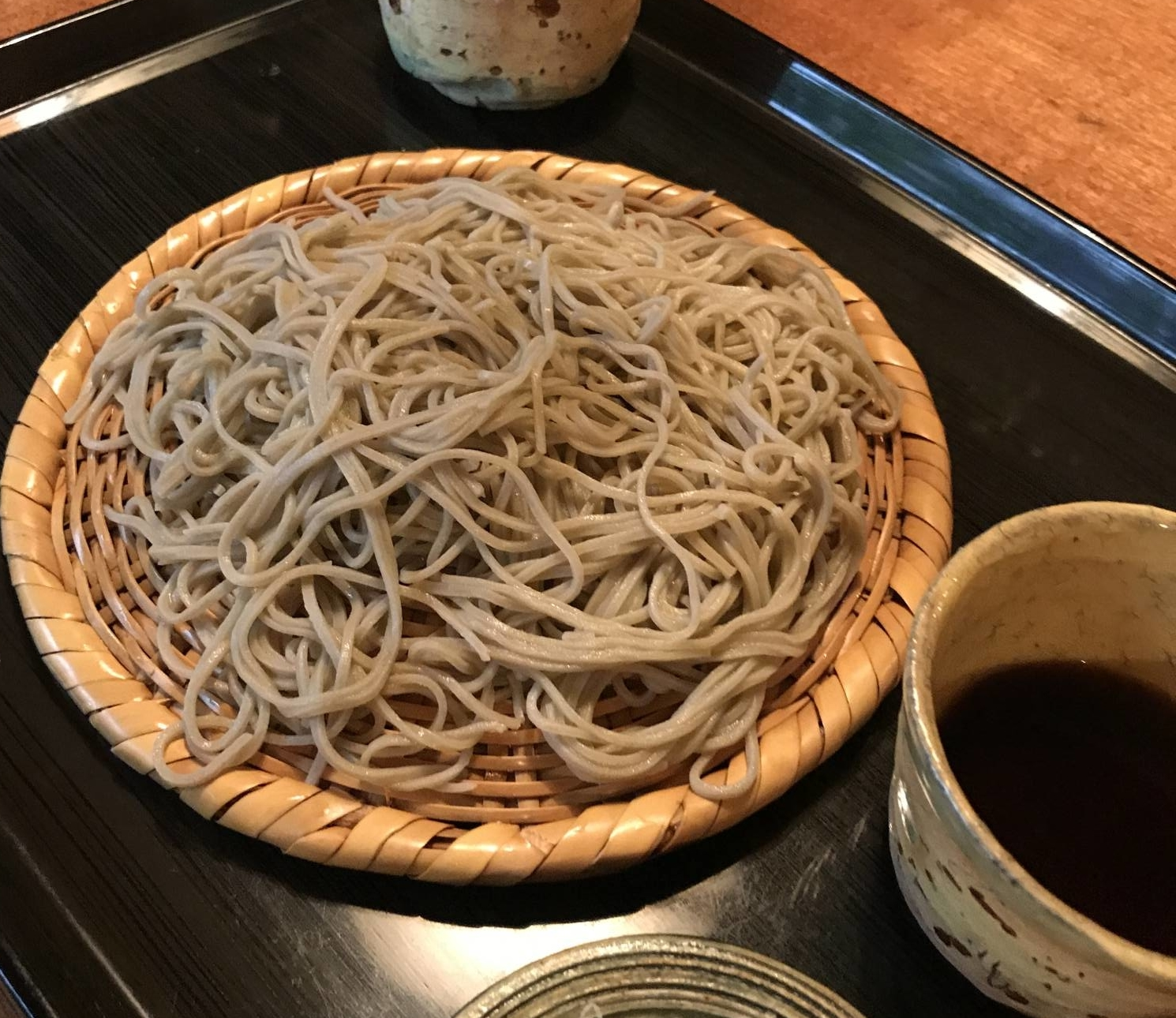 Noodle meister: Takashi Hosokawa has been preparing soba by hand in the traditional way for over 30 years. | ROBBIE SWINNERTON
