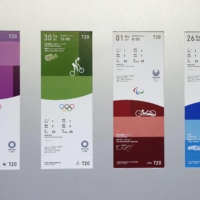 The ticket designs for the 2020 Tokyo Olympics and Paralympics  | KYODO