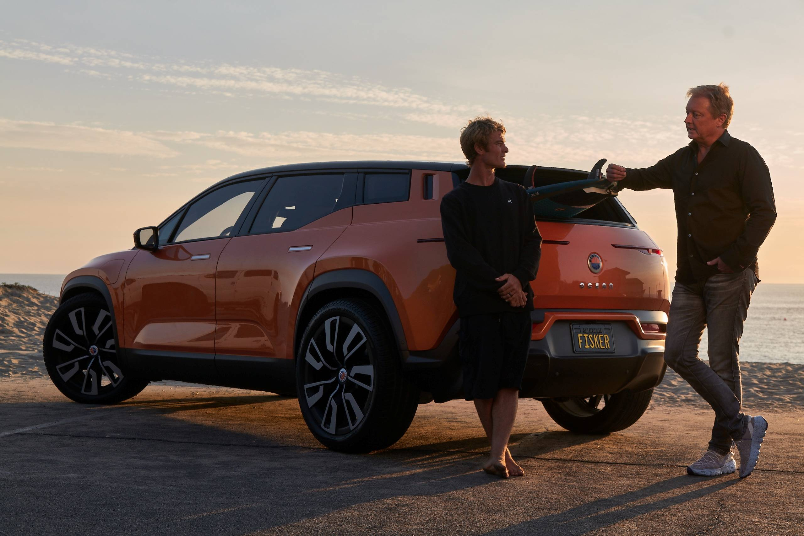 The Fisker Ocean electric SUV is at least two years away from production in a project heavily dependent on nailing down deals with partners who will build the car and provide key components. | FISKER INC. / VIA REUTERS
