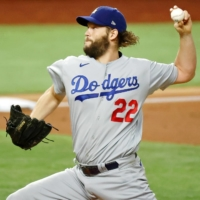 Clayton Kershaw does just enough to move Dodgers to brink of World Series title