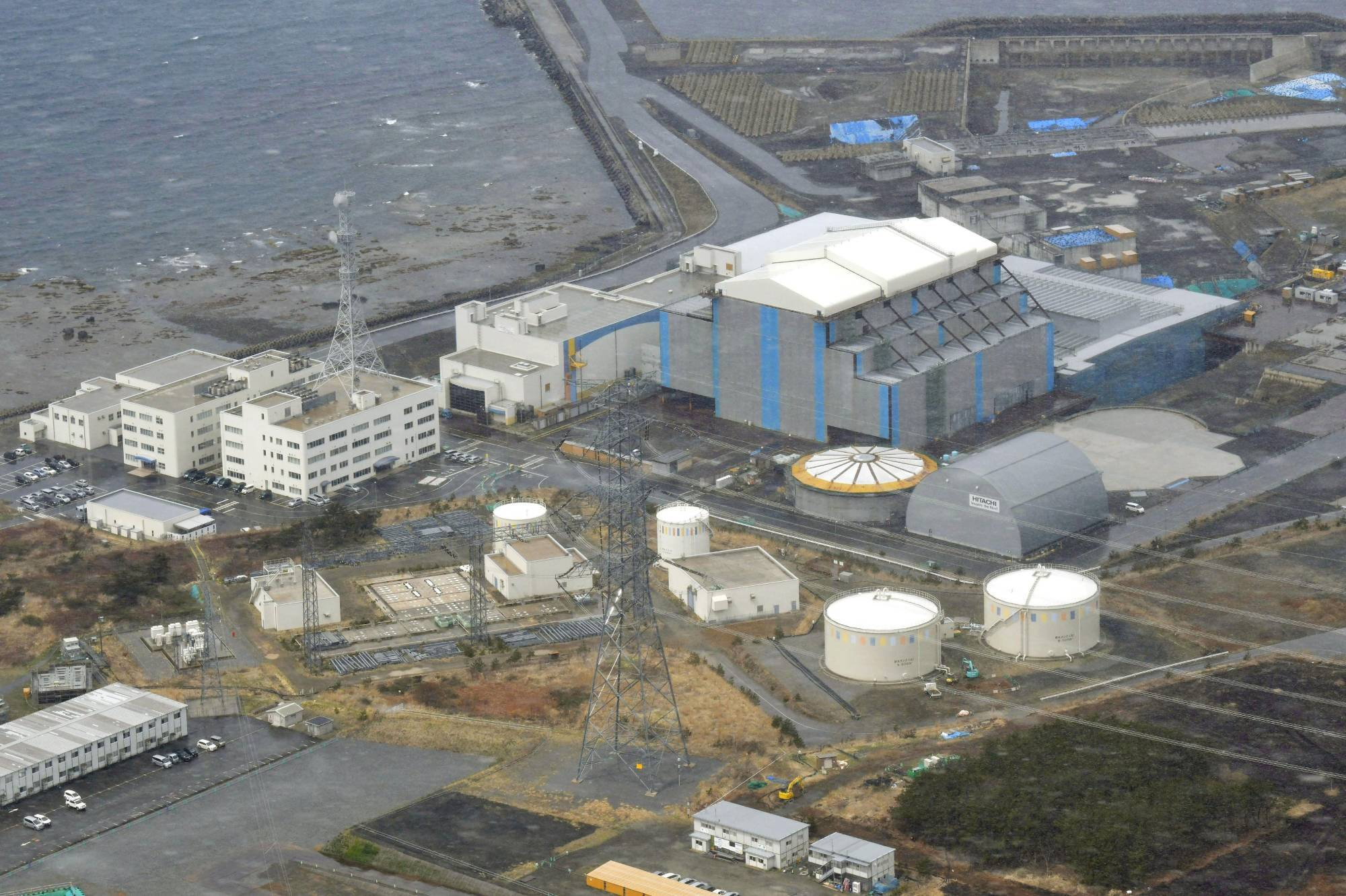 While Japan's position on nuclear power has remained unclear following the 2011 Fukushima disaster, construction of a new nuclear plant in Oma, Aomori Prefecture, has progressed. | KYODO