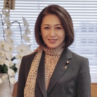 New deputy health minister Junko Mihara speaks in an interview last Thursday about her plans to amplify women's voices in seeking to address infertility in the nation and boost support for infertile couples. | MAGDALENA OSUMI