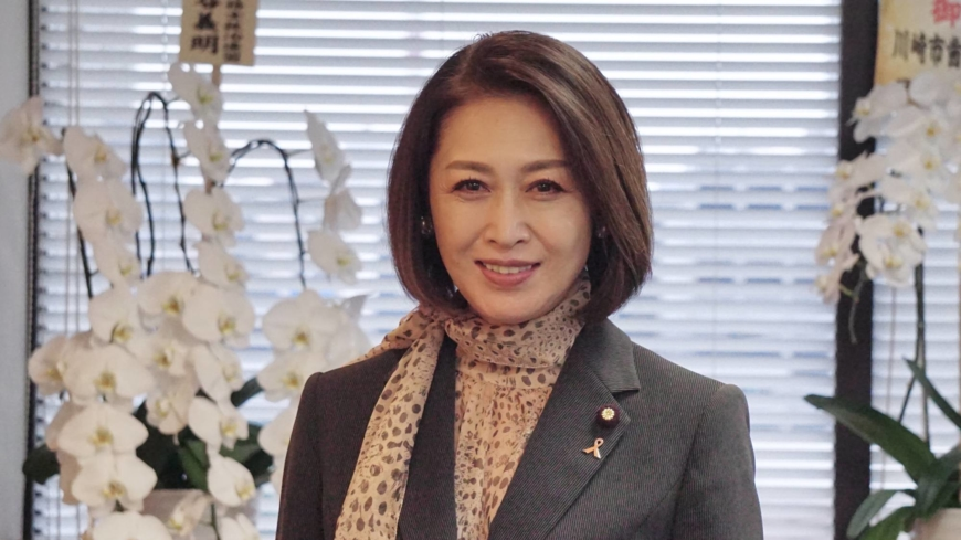 Deputy minister Junko Mihara vows to amplify women's voices on health care
