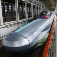 JR East offers test ride for ALFA-X experimental shinkansen