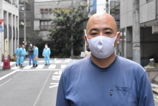 Toru Koremura, president of Tokyo-based cleaning company Riskbenefit, recalls how his trepidation was soon replaced by a sense of mission as he took up the challenge of decontaminating the Diamond Princess — a virus-hit cruise ship quarantined in the port of Yokohama earlier this year. | TOMOHIRO OSAKI