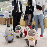 Japan's 'healing robots' help ease COVID-19 isolation