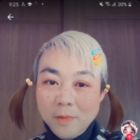 On TikTok, Pavin Chachavalpongpun makes full use of the app's many filters to give himself pigtails and colorful hair or to appear as royalty, among other digital costumes — all the while imitating traditional songs or lip-synching to taped recordings of speeches by Thai royalty.