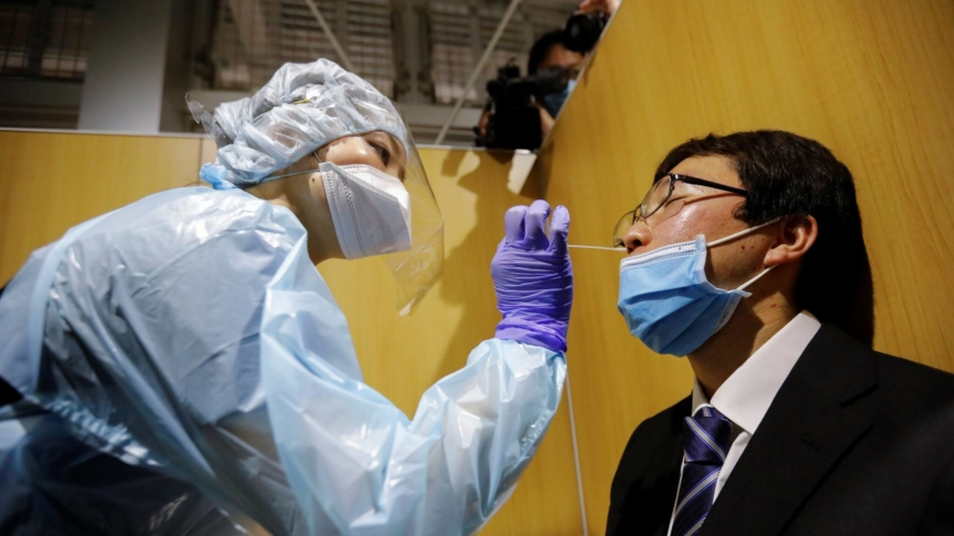 Narita opens Japan's first coronavirus test site for departures