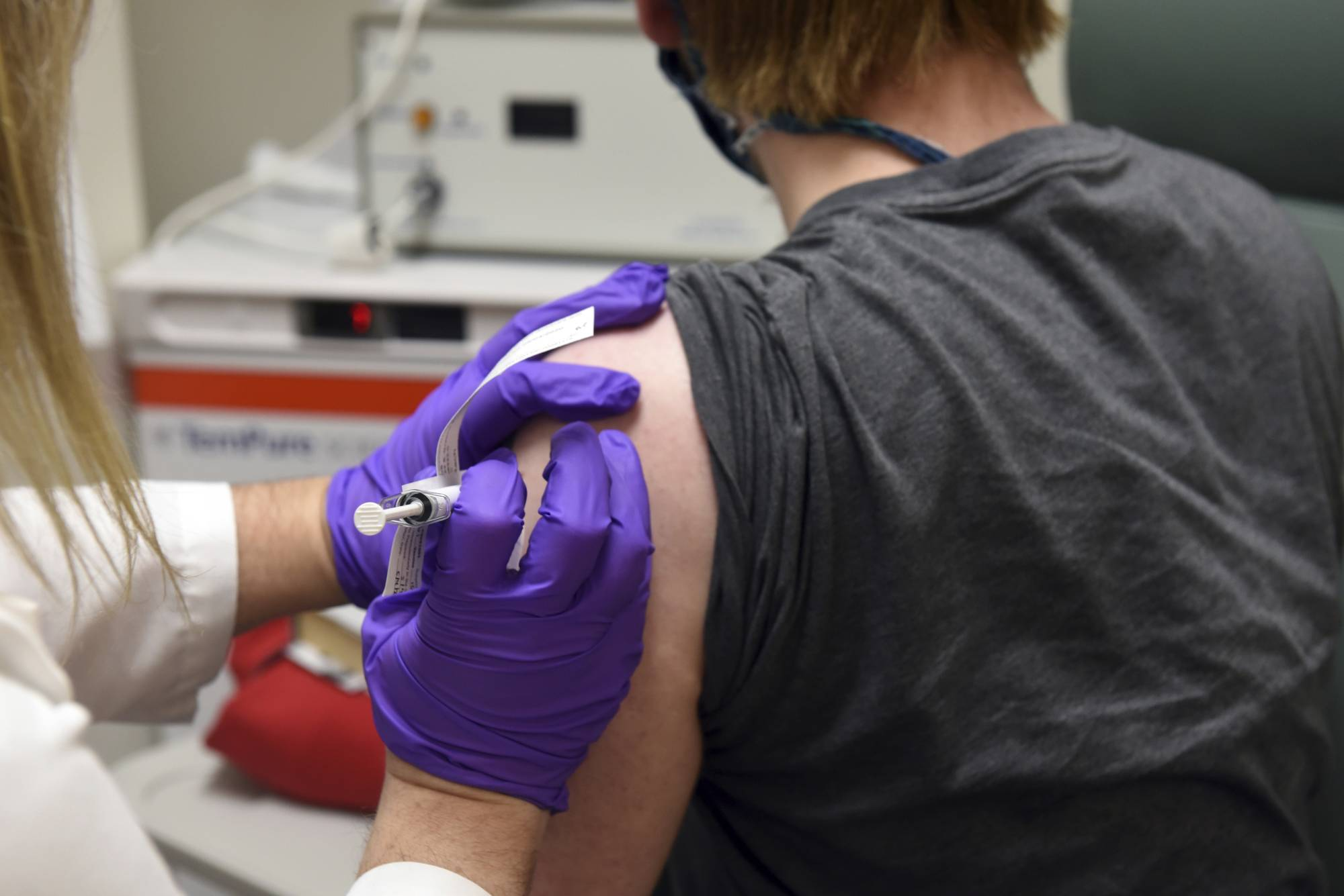 With trials taking place for numerous potential coronavirus vaccines around the world, now is the time for governments to prepare for their proper distribution. | UNIVERSITY OF MARYLAND SCHOOL OF MEDICINE / VIA AP