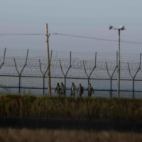 South Korean military captures North Korean crossing border in possible defection