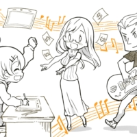 Teamwork makes the dream work: Jun Sugawara's latest crowdfunding campaign aims to pay animators more fairly and give them a chance to collaborate with musicians outside Japan. | COURTESY OF JUN SUGAWARA