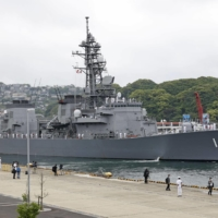 Japan is considering exporting the Maritime Self-Defense Force's destroyer to Indonesia. | KYODO