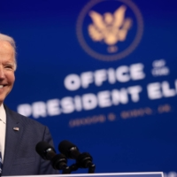 U.S. President-elect Joe Biden at his transition headquarters in Wilmington, Delaware, on Tuesday | REUTERS