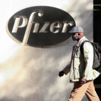 American pharmaceutical giant Pfizer, along with Germany's BioNTech, is hoping to ship millions of doses of its new COVID-19 vaccine around the world. | AFP-JIJI