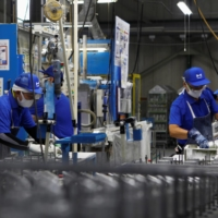 Japan's economy in the three months to September likely saw the biggest expansion in 40 years, as business activities restarted despite the coronavirus pandemic. | REUTERS