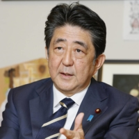 Abe wants referendum law amended soon to ease Constitution revision