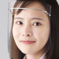 Japanese firms pitch high-tech face shields to curb virus infections