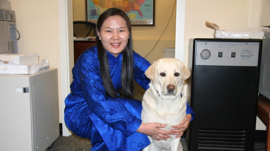 'The bond between a blind person and her guide dog is hard to compare to any other relationship'