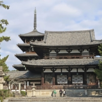 Traditional Japanese architectural craftsmanship techniques used in repairing wooden structures, such as the Horyuji temple in Nara, have been recommended for registration in UNESCO's Intangible Cultural Heritage list. | KYODO