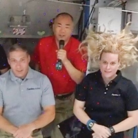 Astronaut Noguchi says SpaceX ship offered 'best' flight to ISS