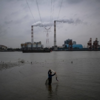 The Wujing Coal-Electricity Power Station in Shanghai. With the next round of global climate talks coming up in Glasgow and countries under pressure to boost their commitments, China stands to gain a lot of goodwill by coming out of the gate early with a bold declaration. | AFP-JIJI
