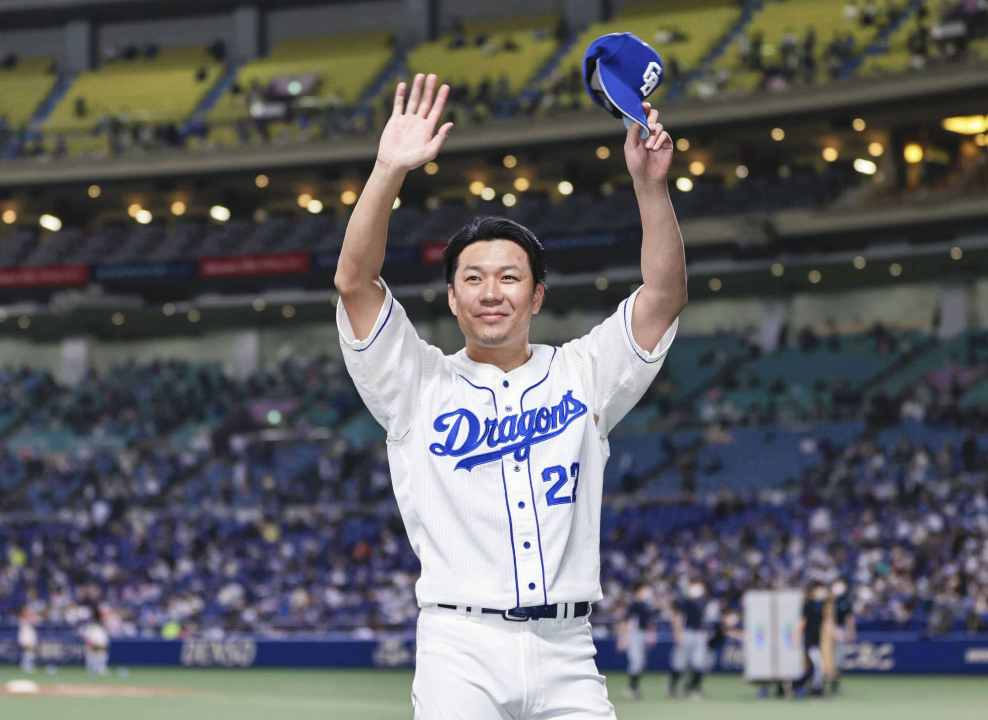 Yudai Ono led NPB with 10 complete games and six shutouts in 2020.   KYODO