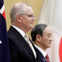 Japan and Australia put aside wartime baggage to counter China's rise
