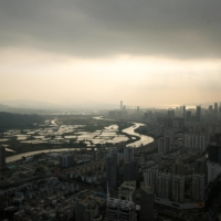 Shenzhen, with its bustling ports and glittering skyline, is clearly populated and prosperous. | REUTERS