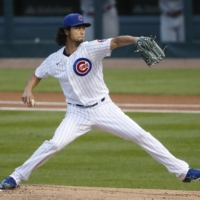 Yu Darvish pitches against the Twins on Sept. 20 in Chicago. | USA TODAY / VIA REUTERS