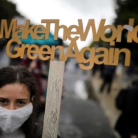 A climate demonstration in Berlin in September | REUTERS
