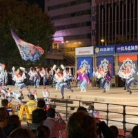 Save the last dance: This year's Yosakoi Festival was canceled due to concerns related to the spread of COVID-19, but Kochi's yosakoi dancers were able to perform at local hero Sakamoto Ryoma's birthday celebrations on Nov. 15. | ERIC MARGOLIS