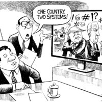 Division or dialogue with China?