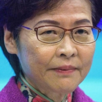 Left bankless due to sanctions, Hong Kong's Carrie Lam says she uses 'piles of cash'