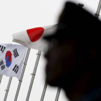 As Japan and South Korea remain deeply divided over historical issues, parliamentarians' associations from both countries are playing an important role in behind the scenes diplomacy.  | REUTERS