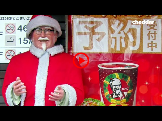 How KFC became a Christmas tradition in Japan — Cheddar Examines  | CHEDDAR